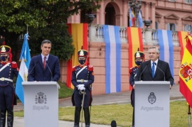"""Alberto Fernández: """"Argentina y España tienen un lazo indisoluble"""