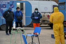 Nueva jornada de hisopados en la ciudad de Río Gallegos