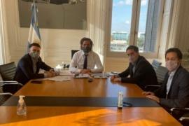 Juan Pablo Luque se reunió con Santiago Cafiero por la continuidad del plan de vacunación