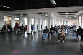 Se concretó una nueva jornada de vacunación en el Complejo Cultural de Río Gallegos