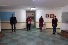 Se realizó recorrido por las instalaciones de la Escuela Especial N° 8 de Caleta Olivia