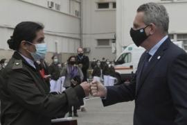 Una enfermera del Hospital Militar fue distinguida por su lucha contra la Covid-19