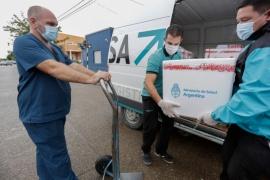 Llegan a Chubut 11.100 nuevas dosis de Astrazeneca