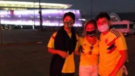 Viajaron a ver la Copa América y se enteraron en Brasil que era sin público