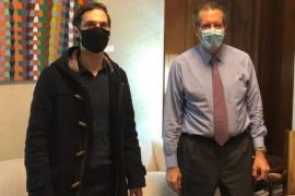 Miguel Arnaudo se reunió con el presidente del Banco Central