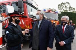 Alberto Fernández promulgó la Ley de Fortalecimiento del Sistema de Bomberos Voluntarios