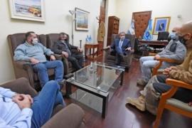 Mariano Arcioni recibió al subsecretario de Protección Civil de la Nación