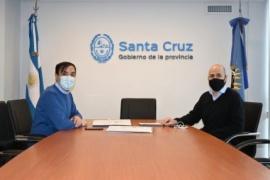 Concretaron encuentro para fortalecer vínculos y acciones con el Municipio de Río Gallegos