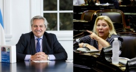 El abogado de Alberto Fernández demandará a Elisa Carrió por calumnias e injurias
