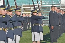 Mariano Arcioni tomó juramento de lealtad a 170 aspirantes y cadetes de la Policía del Chubut
