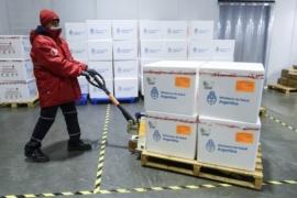 Mañana la Argentina recibe 1.139.000 de dosis de Astrazeneca