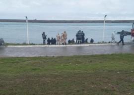 Encontraron un cuerpo flotando en Puerto Deseado