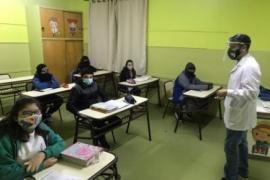 Destacan el trabajo de las escuelas para garantizar el derecho a la educación y a la salud