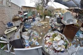 El Municipio intervino en un caso severo deacumulación en Trelew