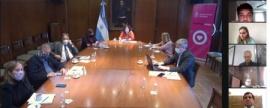 Santa Cruz participó de una nueva reunión del Consejo Federal de Salud