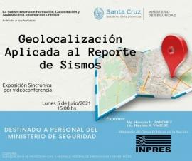 Concretaran charla sobre la Geolocalización Aplicada al Reporte de Sismos