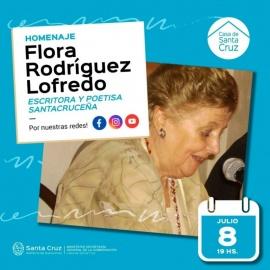 La Casa de Santa Cruz homenajea a la escritora Flora Rodríguez Lofredo