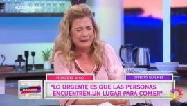 """Internaron de urgencia a Mercedes Ninci: """"Me estalló la cabeza"""""""