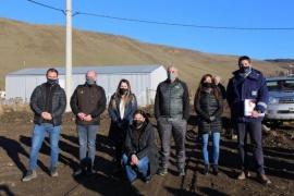 Gobierno inauguró la obra de extensión de red de gas en el barrio Julia Dufour