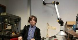 """""""Mi objetivo es la inmortalidad"""", tiene 11 años y se recibió de licenciado en física"""