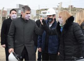 Alicia Kirchner inauguró la Línea de Alta Tensión Santa Cruz Norte