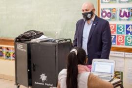 Gustavo Sastre destacó de desarrollo de herramientas digitales para optimizar la virtualidad en las escuelas