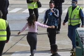 Lionel Messi se reencontró con Antonela Rocuzzo en Rosario