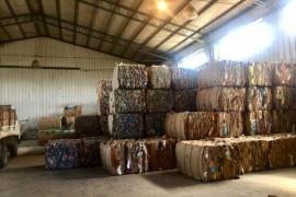 El Calafate vende 27 toneladas de cartón