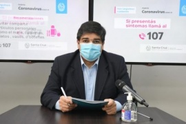 """Claudio García: """"Nuestra recomendación es que se evite salir de la provincia durante el receso invernal"""""""