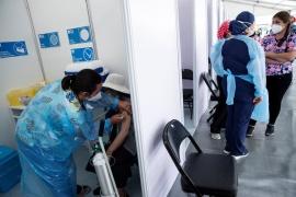 Chile registró por primera vez en la pandemia una positividad inferior al 3%
