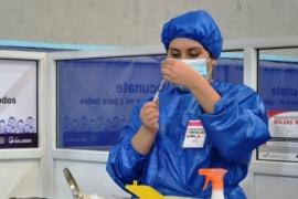 Coronavirus en Santa Cruz: 1585 casos activos y más de 210.000 dosis aplicadas