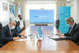 Mariano Arcioni firmó un convenio con Nación para las nuevas terminales de ómnibus de Comodoro Rivadavia, Trelew y Rawson