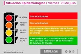 Santa Cruz no registra localidades en alto riesgo ni alarma