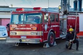 El Museo de bomberos reabrió sus puertas a la comunidad de Río Gallegos
