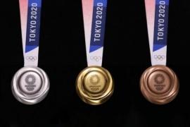 Las medallas de Tokio 2020 fueron hechas con basura electrónica reciclada