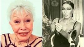 A los 78 años, murió la actriz y vedette Gogó Rojo