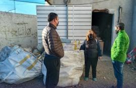 Municipio entregó elementos electrónicos para reciclado a la Fundación Garrahan