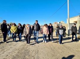 Gustavo Menna pidió ampliar zona de emergencia hídrica en Chubut