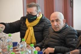 José Dante Llugdar valoró la continuidad de diálogo de la Mesa Intersindical