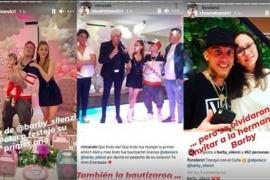 La hermana de Barby Silenzi estalló de furia en las redes tras ser excluida del cumpleaños de Abril