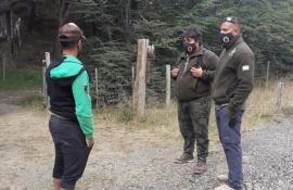 El Chaltén: realizaron capacitación de pesca deportiva