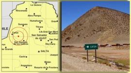 Un sismo de 6.3 grados de magnitud se registró en la Puna jujeña
