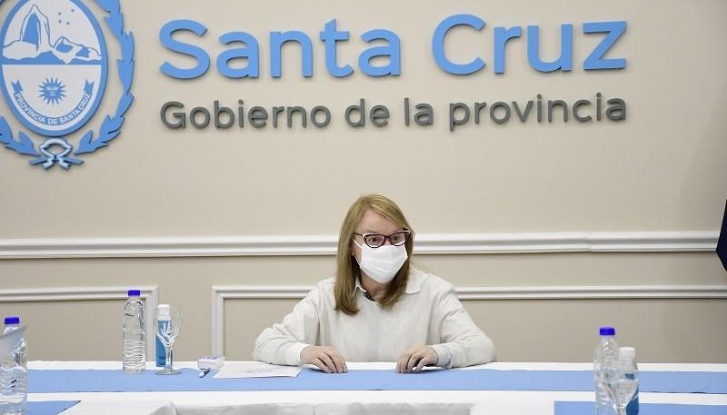 Governor Alicia Kirchner.