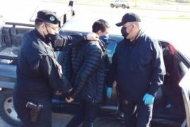 Delincuente detenido luego de raid delictivo y persecución en Río Gallegos