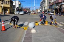 Avanza el proceso de renovación de la avenida San Martin
