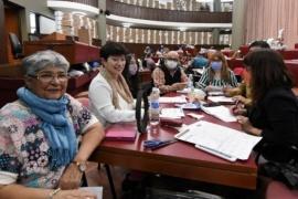 Continúa el recuento de votos en la legislatura de Chubut