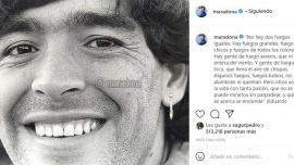 Los hijos de Diego Maradona reactivaron las redes sociales del astro