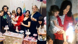 Felipe Pettinato festejó el cumpleaños de su hija