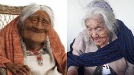 """La abuelita que inspiró a """"Mamá Coco"""" cumplió 108 años y lo celebró con una torta muy especial"""