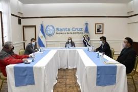 Alicia Kirchner se reunió por tercera vez con intendentes de Santa Cruz